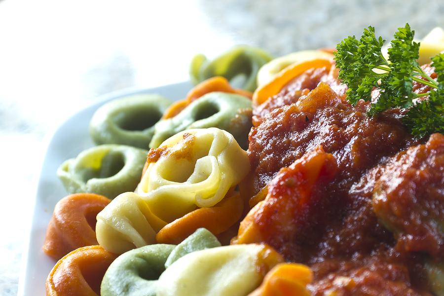 Landolfi Tri-Color Tortellini