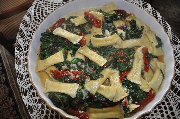 Landolfi Stuffed Spinach Rigatoni